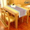modern 100% pure cotton stripe insulated table runner
