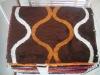 modern design grey chinese polyester shaggy carpet