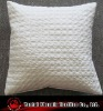modern poly silk quilted cushion