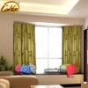 modern printed recycle cotton window curtain