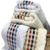 mosaic 100% cotton towels