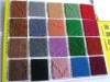 needle punched Single Jacquard Carpet 100% polyester
