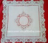 new design 100% polyester embroidery cutwork table cloth