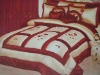 new design 100% polyester taffeta  bed sets