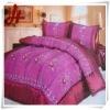 new design 100% polyester taffeta bedding  set/home textile
