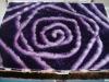new design 3D 100% polyester shaggy carpet