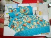 new fashion 100%cotton bed sheet set