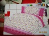 new fashion 100%cotton bed sheet set