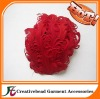 new style colored nagorie curly feather pads