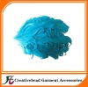 new style curly turquoise feather headbands