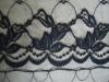 newest designs black 100 poly lace trims