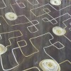 organza embroidery curtain fabric