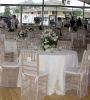 organza wedding Chair Cover