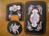 oriental acrylic anti-pilling bath toilet mat sets