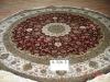 oriental silk carpet