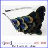 peacock feather headband