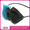 peacock feather headband 2012