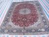 persian artificial silk rug