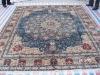 persian origin silk carpet