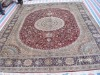 persian silk carpet 8 x 10