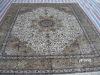 persian silk hand made carpet