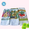 pigment printting kitchen towel with various patterns