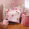 pink girls baby bedding
