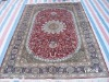 plain silk carpets