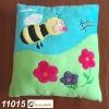 plush and stuffed Baby cushion,Cartoon Bee -11015