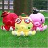 plush decoration pig cushion