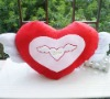 plush heart pillow cushion for valentines gift