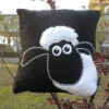 plush sheep cushion