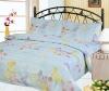 poly-cotton printed bedding set