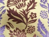 polyester and rayon chenille jacquard sofa fabric