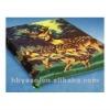polyester giraffe print blanket 200x240cm