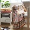 polyester girls  beautiful coral fleece blanket