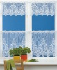 polyester knit lace curtain patterns