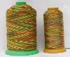 polyester multi-color thread