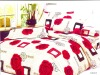 polyester printed bedding set