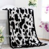 polyester printed plush throw blanket 200*240cm