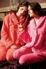 polyester printed super soft coral fleece  pajama / sleepwear