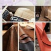 polyester upholstery suede tricot for car