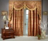 polyester window curtain cloth