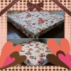 practical polyester blanket (with coral fleece fabric)