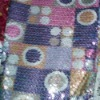 print sequin embroidery fabric