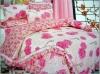 printed bedding set -- Pink Memory