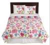 printed cotton bedding set