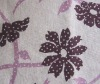 printed cotton spandex terry fabric for cloth