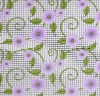 printed flower pvc tablecloth
