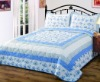 printed patchwork bedspread set